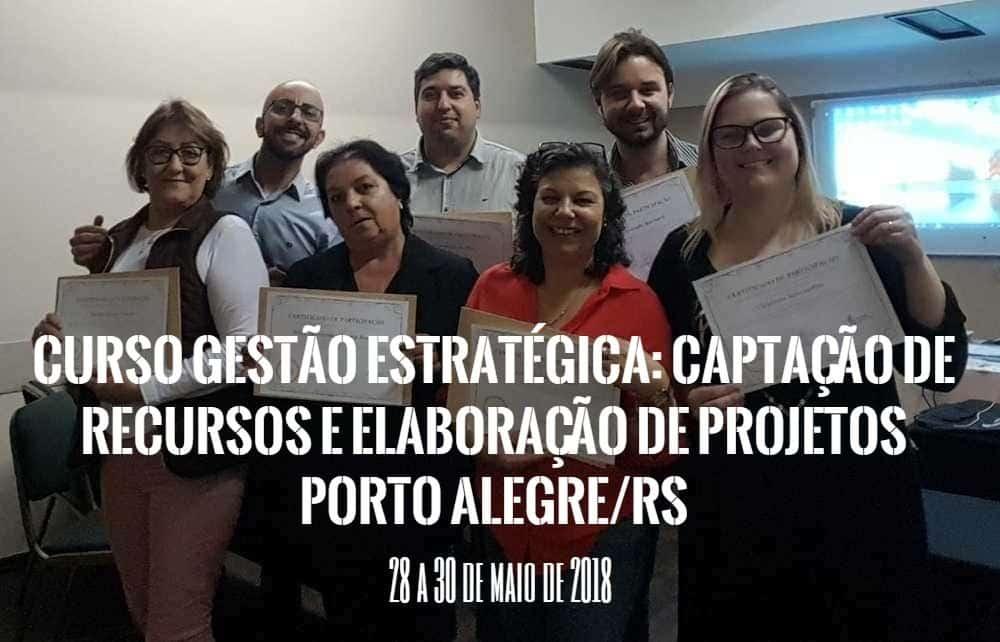 Curso Captação de Recursos e Elaboração de Projetos - Porto Alegre - RS