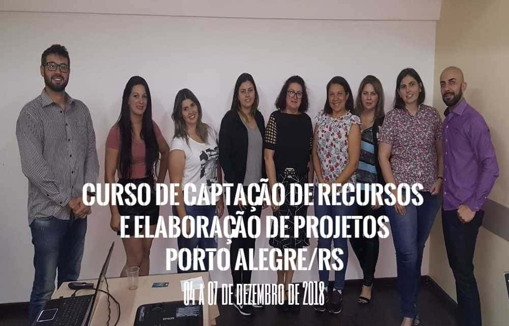 Curso de Captação de Recursos e Elaboração de Projetos Realizado em Porto Alegre/RS
