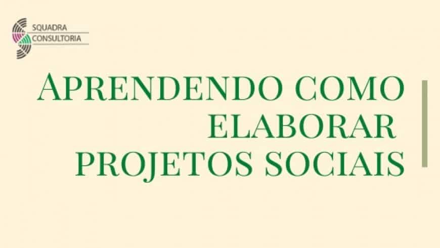Curso Online de Elaboração de ProjetosSociais