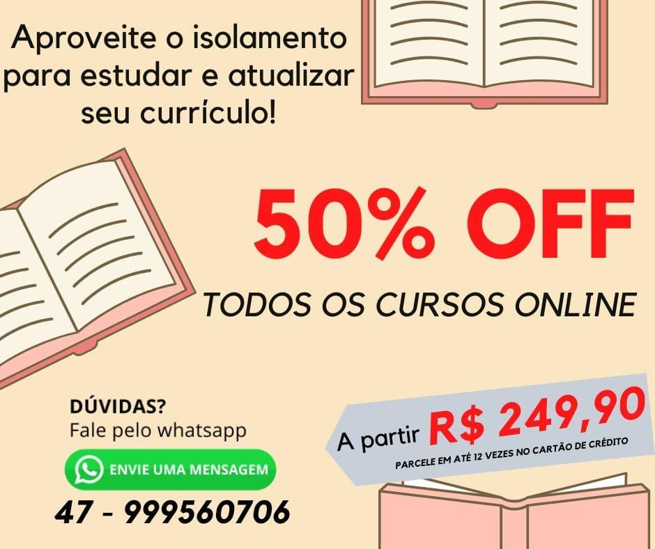 Curso Siconv Online - 50% desconto