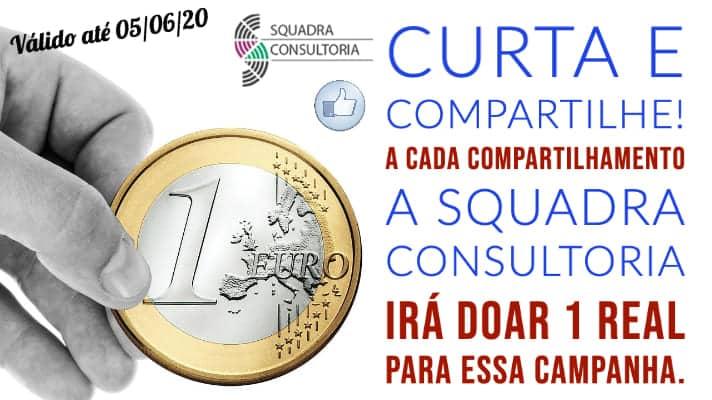 Campanha Doa Brasil - APAE Sorriso - Squadra Consultoria doa 1 Real