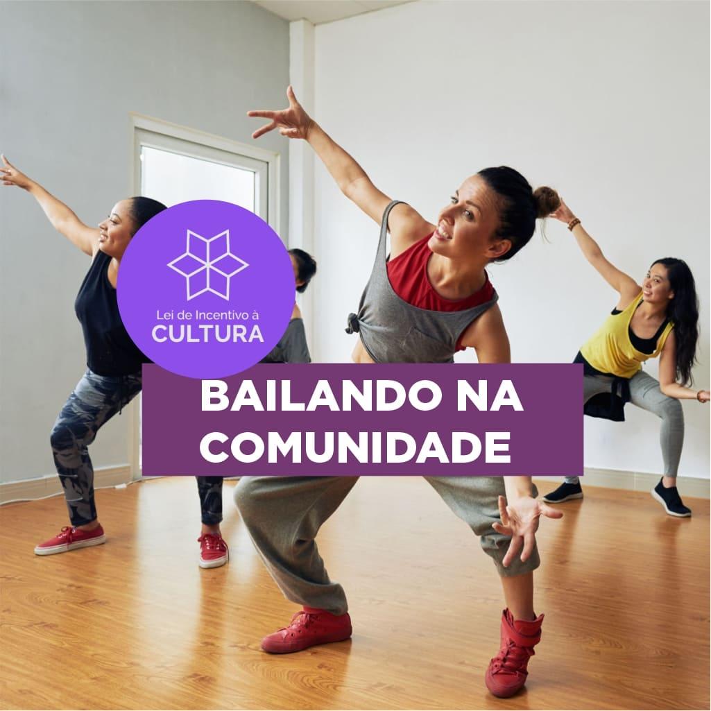 projeto bailando na comunidade