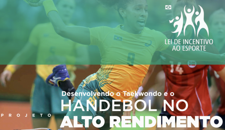 Projeto Desenvolvendo o Taekwondo e o Handebol no Alto Rendimento
