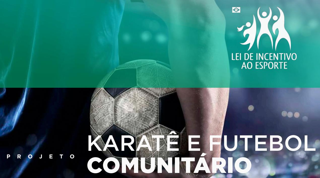 karate e futebol comunitario projeto